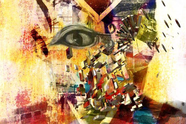 Explosão estelar NEM Self Mob Fiction We Are Juxt Surrealism