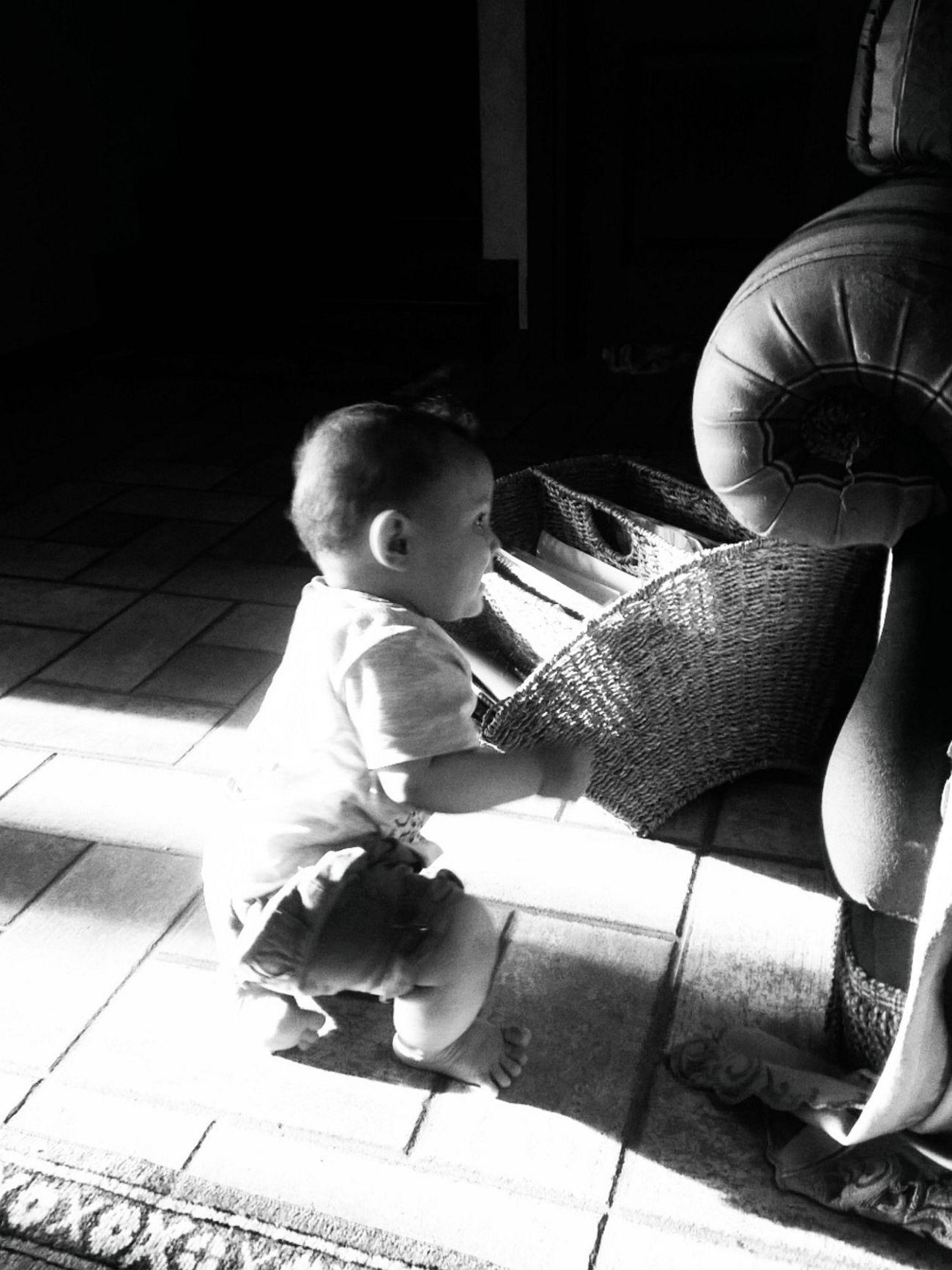 AuntieLove Blackandwhite Photography Boy Cute Fun Ian Lovehim Mybabyboy❤️❤️❤️❤️ Mybaby❤ Nephew ♡ Start To Walk