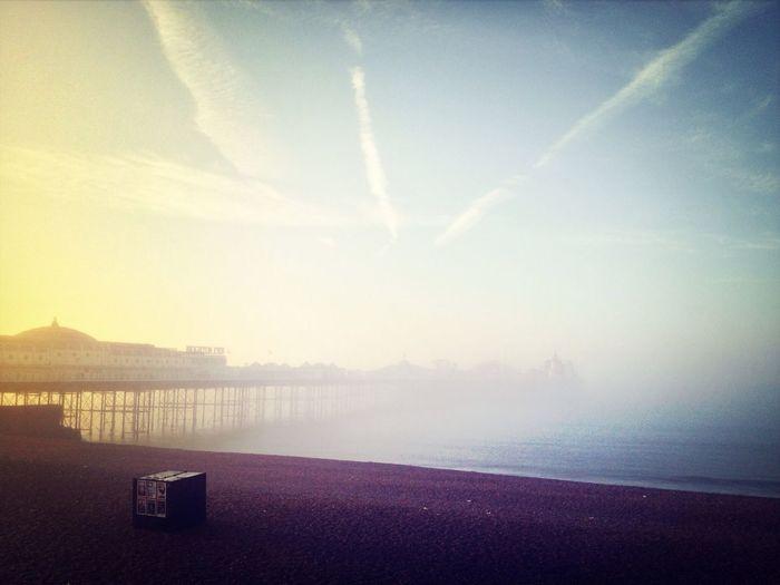 Brighton Pier Seafront Morning