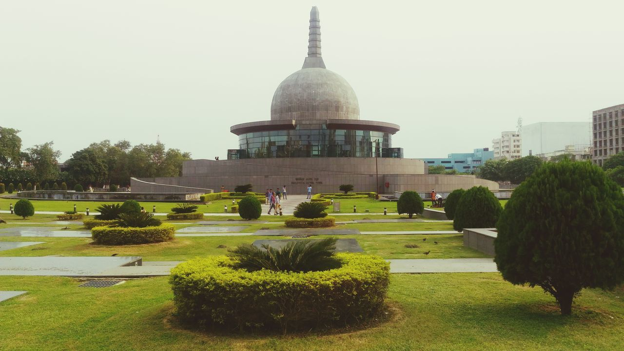 Tree Travel Destinations Architecture Plant Built Structure Formal Garden Grass Footpath Famous Place Park - Man Made Space Monument Nature Tree Green Temple Buddha Stupa Arcitecture Buddha Stup Buddha Park Awesome Park Bodhgaya Building Joyful To See This Image Patna