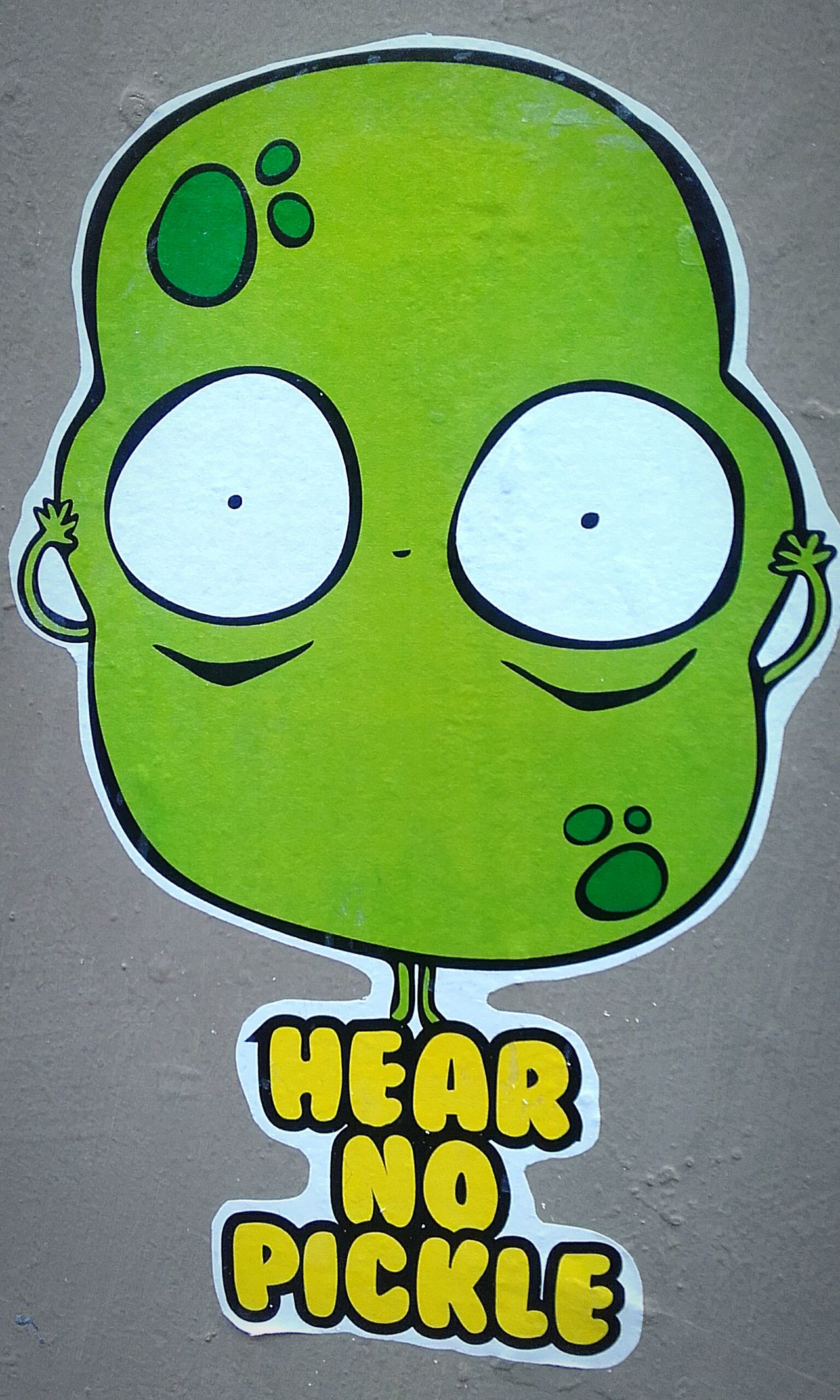 Hear No Pickle Wallart Stickers And Stickers Stickerart Streetart/graffiti Street Art Streetart Wall Art Sticker Wall Stickerseverywhere Sticker Sticker Slapper Sticker Art Stickers Stickers Stickers Pickle Street Art/Graffiti Stickers Wall Sticker Stickerporn Wall-stickers Stickerama Pickles Stickerslapper Wallsticker Stickerslappin