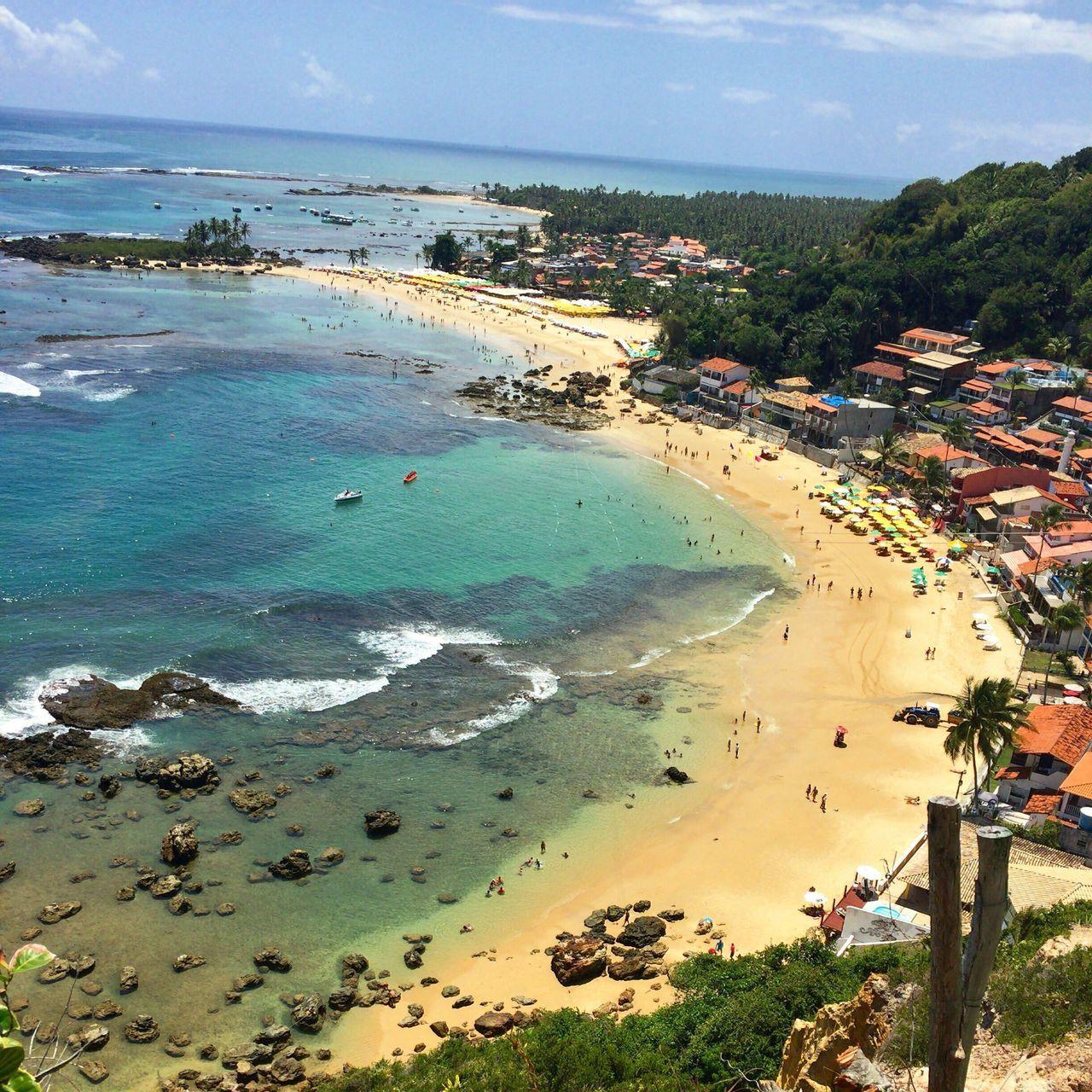 Primeira praia morro de São Paulo. Bahia. Beach Water Sand Tirolesa EyeEmNewHere