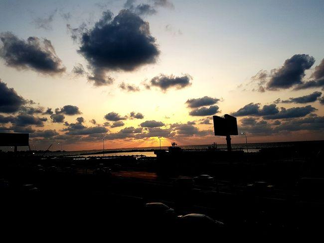 Alexandria Egypt Sunset Cloud - Sky Outdoors Sky