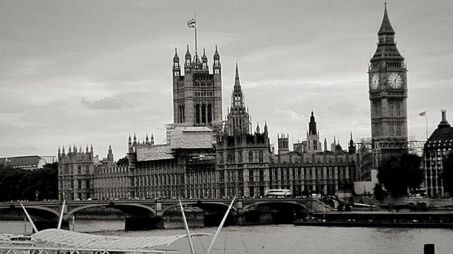 Big Ben London Big Ben Parlament Nice Place Blackandwhite GB Best Town Great Britain Best City