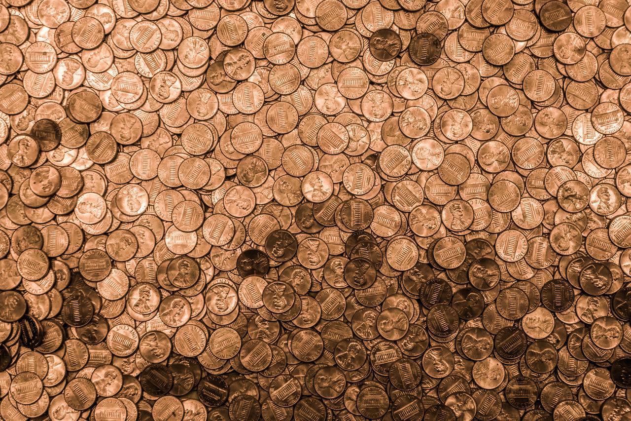 Beautiful stock photos of business, Abundance, Backgrounds, Circle, Coin