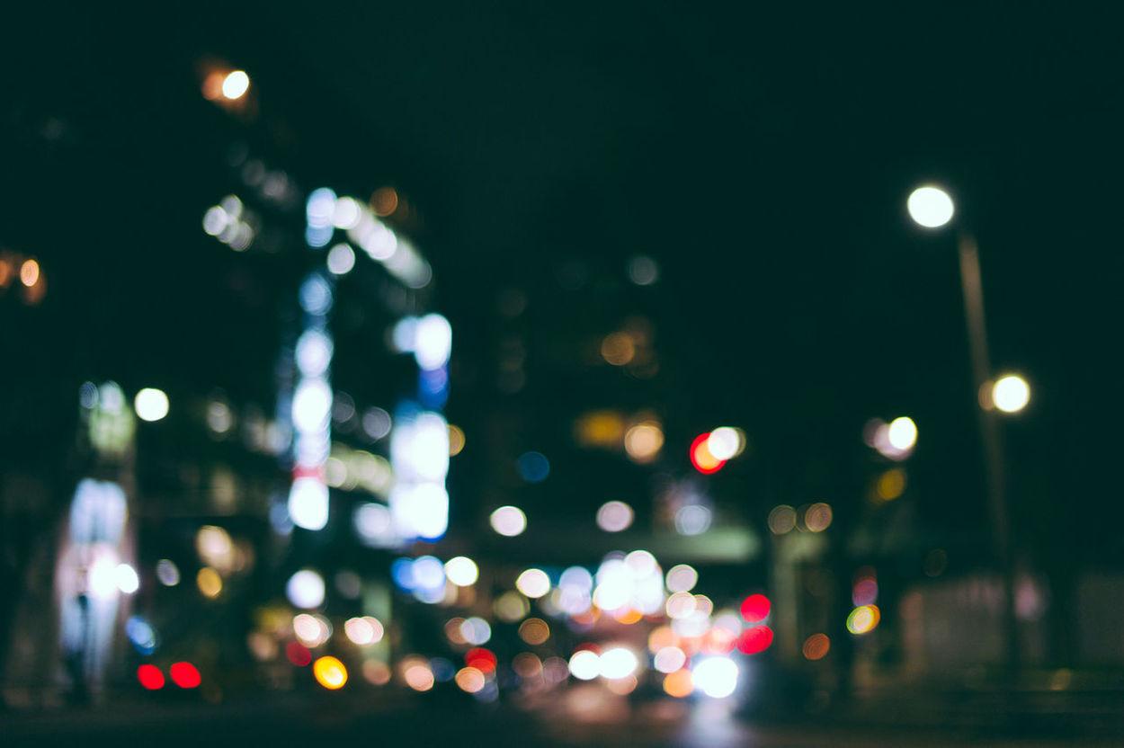 one night in shibuya City Leica Leicacamera M9 Night Outfocus Shibuya Street Light Tokyo Tourism Vehicle Light VSCO