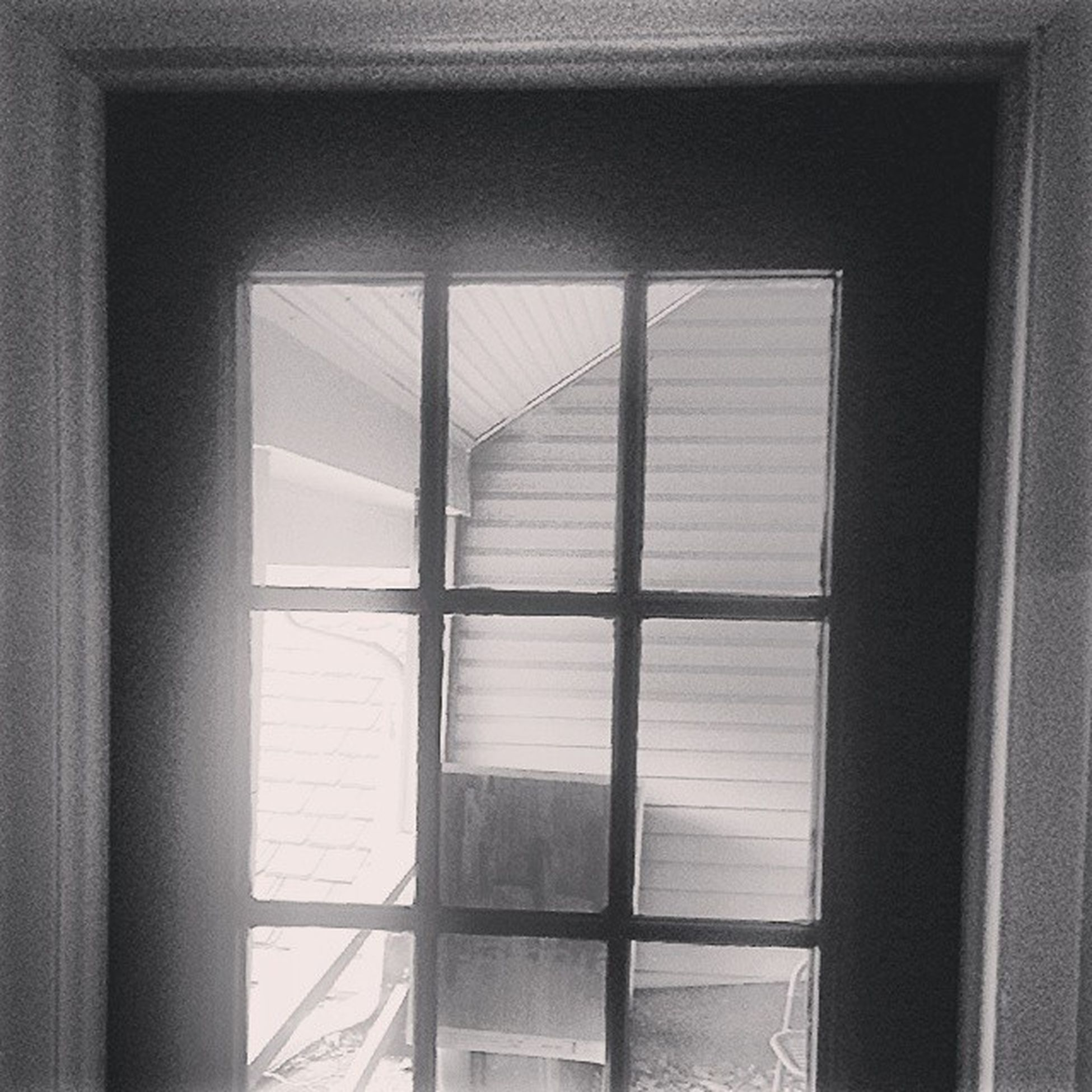The door is everything. All that I've was and will be. The door can see into your mind! The door can see into your soul! Almostnotcrooked Blackandwhite Lamonthouse Check paneledglass happyvalley
