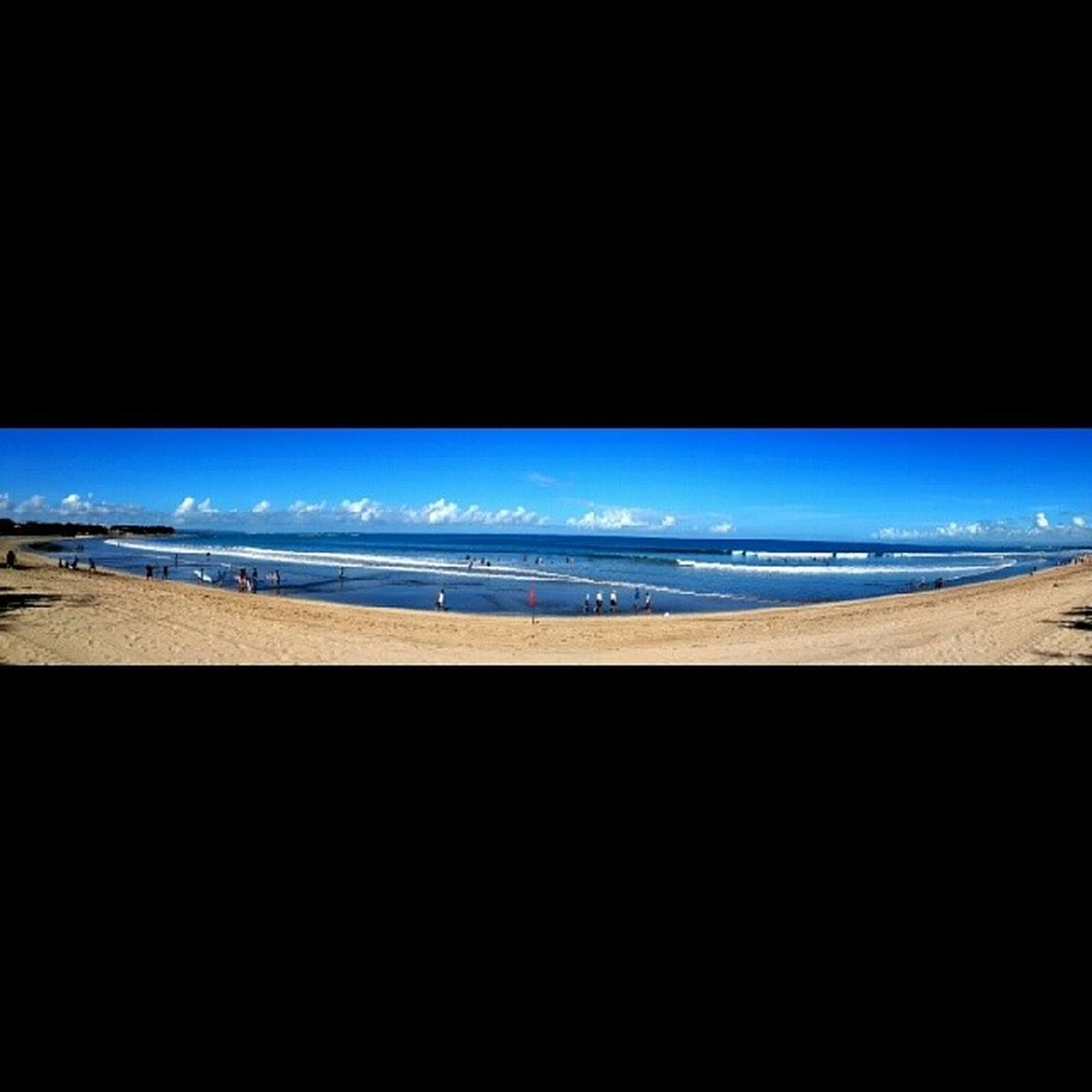 Simple Panorama Kuta Bali Indonesia