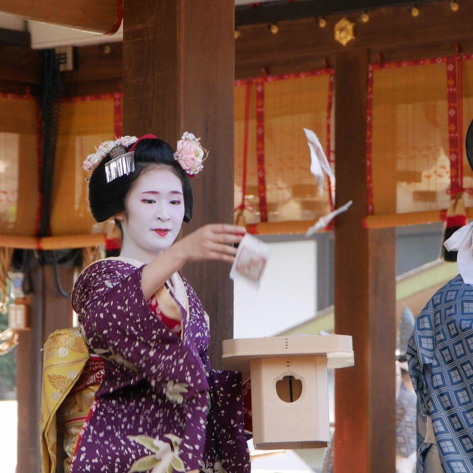 京都 節分祭 八坂神社 舞妓 Tommy@collection Japan OpenEdit EyeEm Best Shots Kyoto Maiko Japanese Style Japanese Temple Japanese  Japan Photography Japanese Culture EyeEm Japan