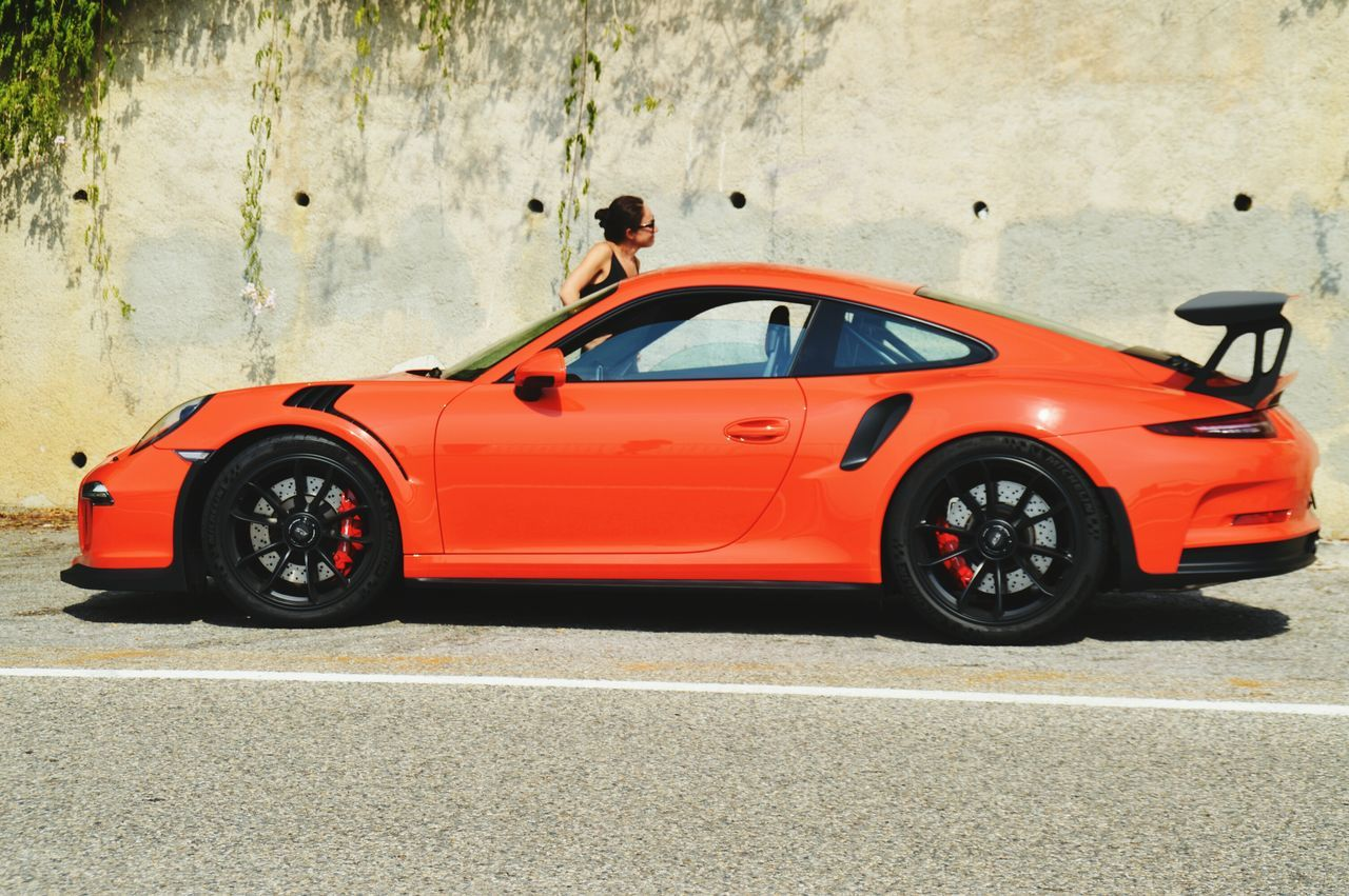 Car Transportation Sports Car Road Collector's Car Porsche GT3RS Porsche 911gt3 NoLook Orange Luxury Car Luxurylifestyle  Montecarlo Monaco
