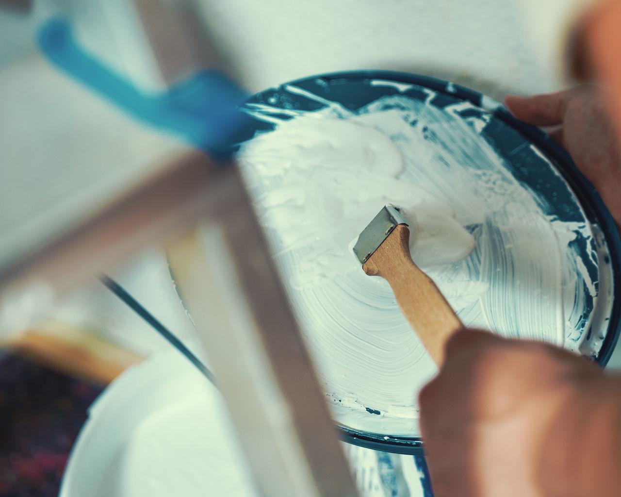 Brush Color DIY Home Housepainting Paint Paintbrush Painter Painting Refurbish Renovate Renovation White Working Working Hard