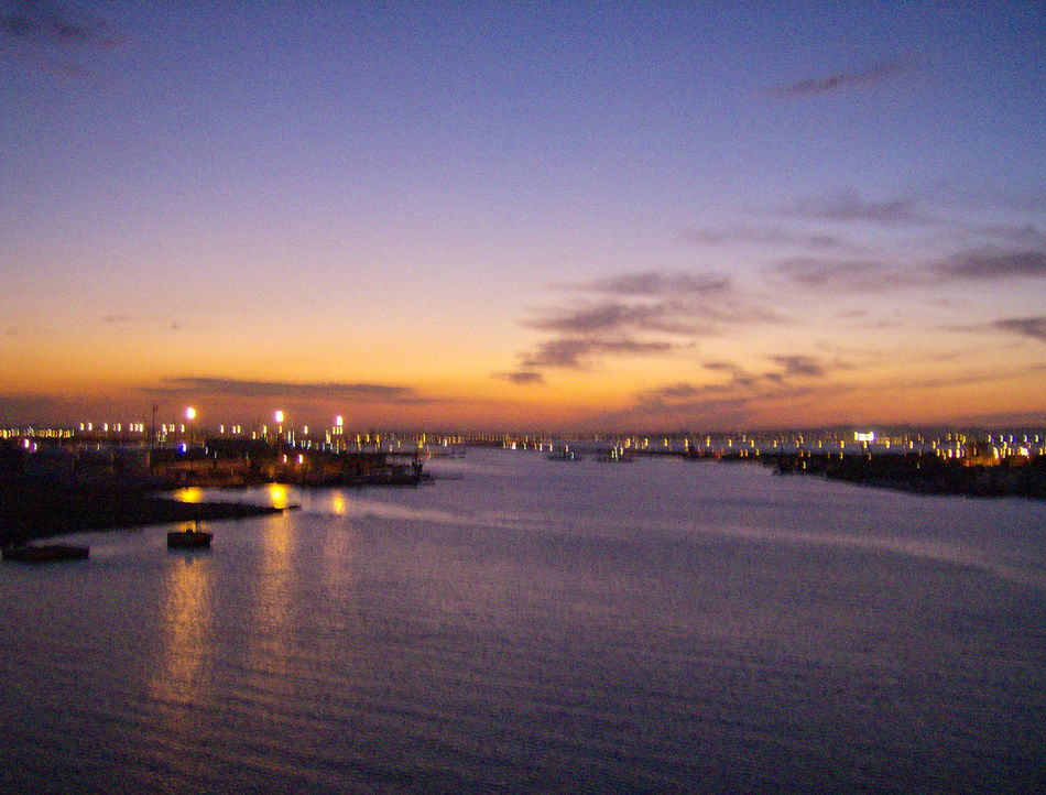 tunis Beauty In Nature Blaue Stunde Blue Hour EyeEm Photo Of The Day Eyeem Photo Of The Week Illuminated Nature No People Reflection River Scenics Sky Sonnenuntergang Sunset Sunset_collection Tramonto Tranquility Tunesia Tunesien Tunis Tunisi Tunisia Tunisie Water Waterfront