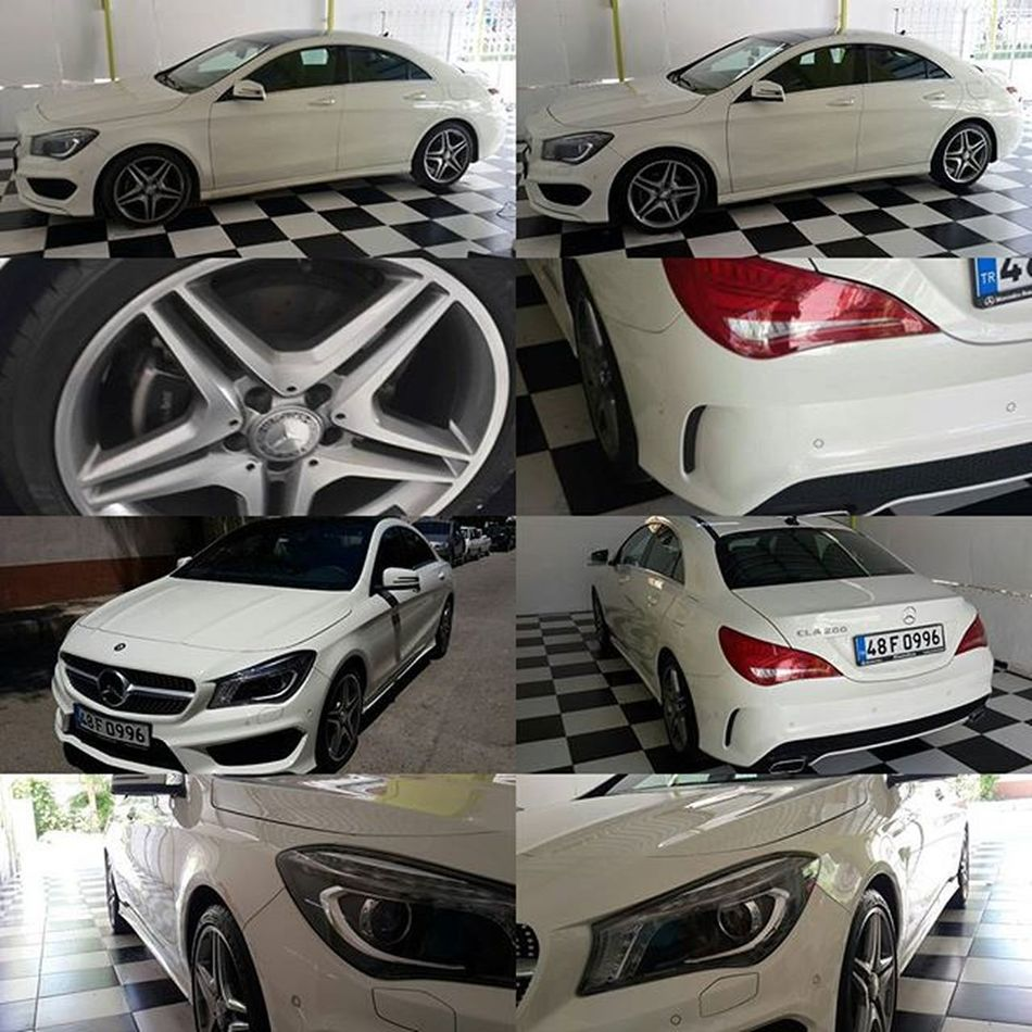 Mercedez Mercedes Cla 200 Globowax Temizaraba Drycarcare AMG