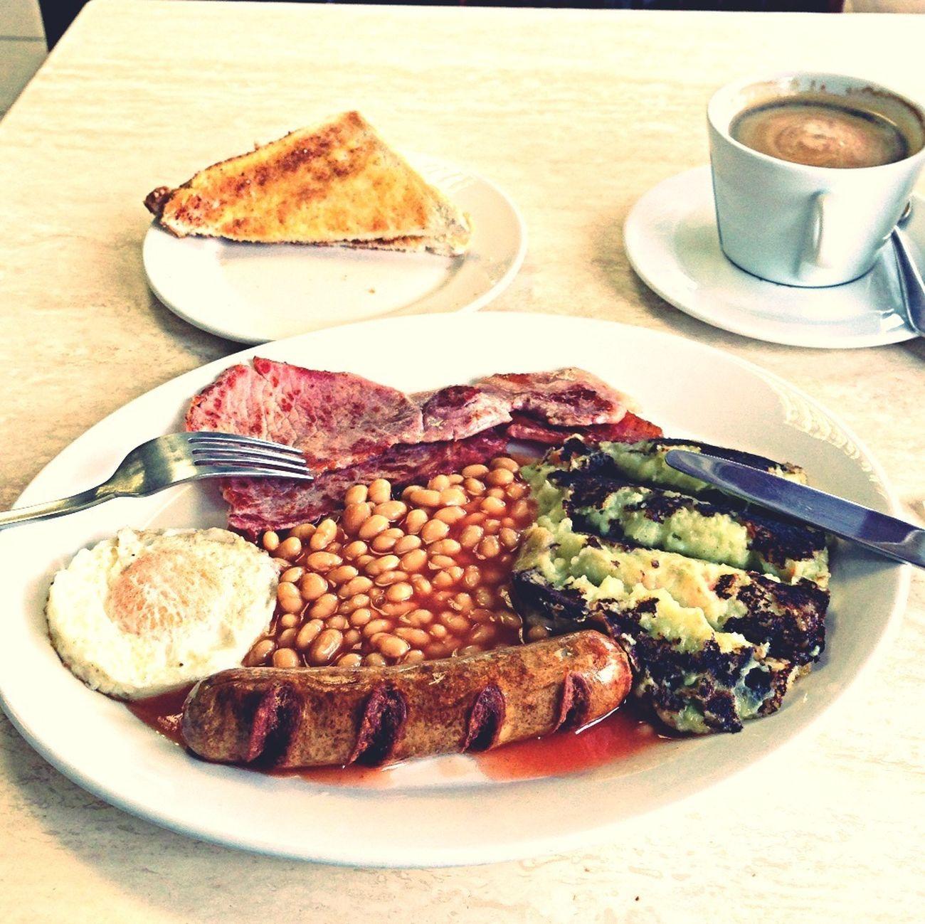 Post Show late breakfast feast