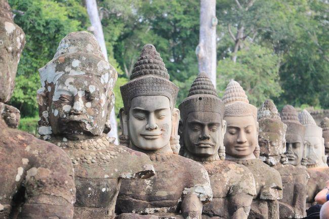 Angkor Thom Cambodia Siem Reap
