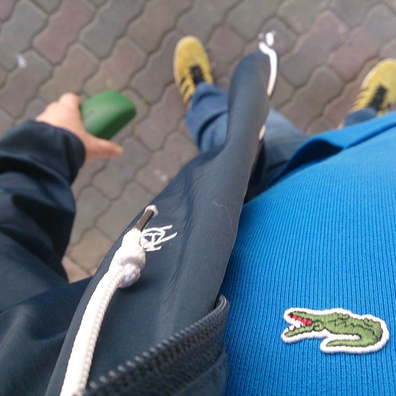 Matchdayclobber Marchday Lacoste Penguin Gazelles085 Adidasgazelles