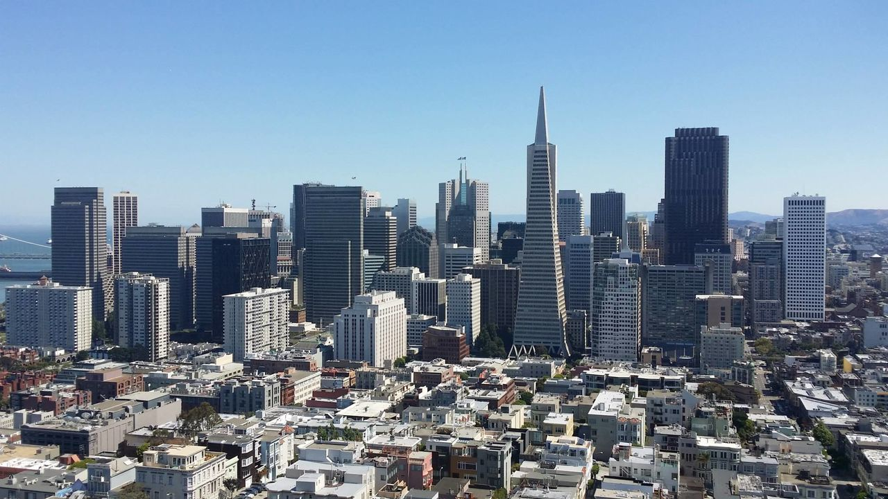 Beautiful stock photos of san francisco, Architecture, Building, Building Exterior, Built Structure