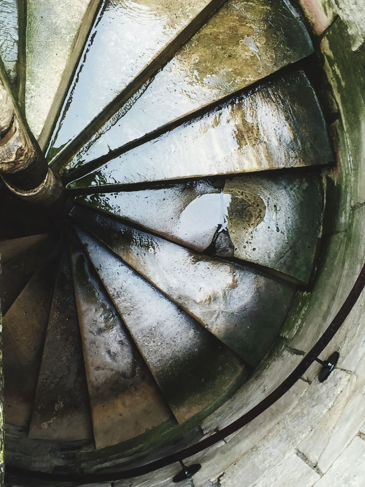 Down Spiral Staircase Wolfe Does UK IPhone Photography York Uk Pattern Pieces Patterns & Textures Pattern