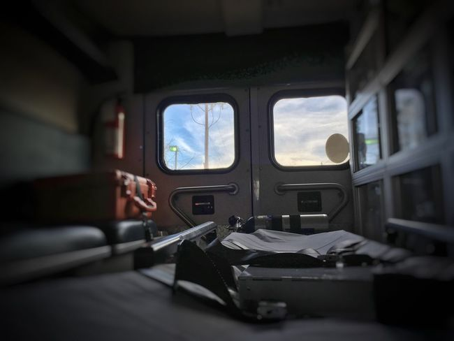 Through a Patient's Eyes EMS Ambulance 911 Emergency Patient Patientcare Prehospital Emergency Services Medical Stretcher Pram Cot Litter Paramedic Paramediclife Emt Colorado The Color Of Business