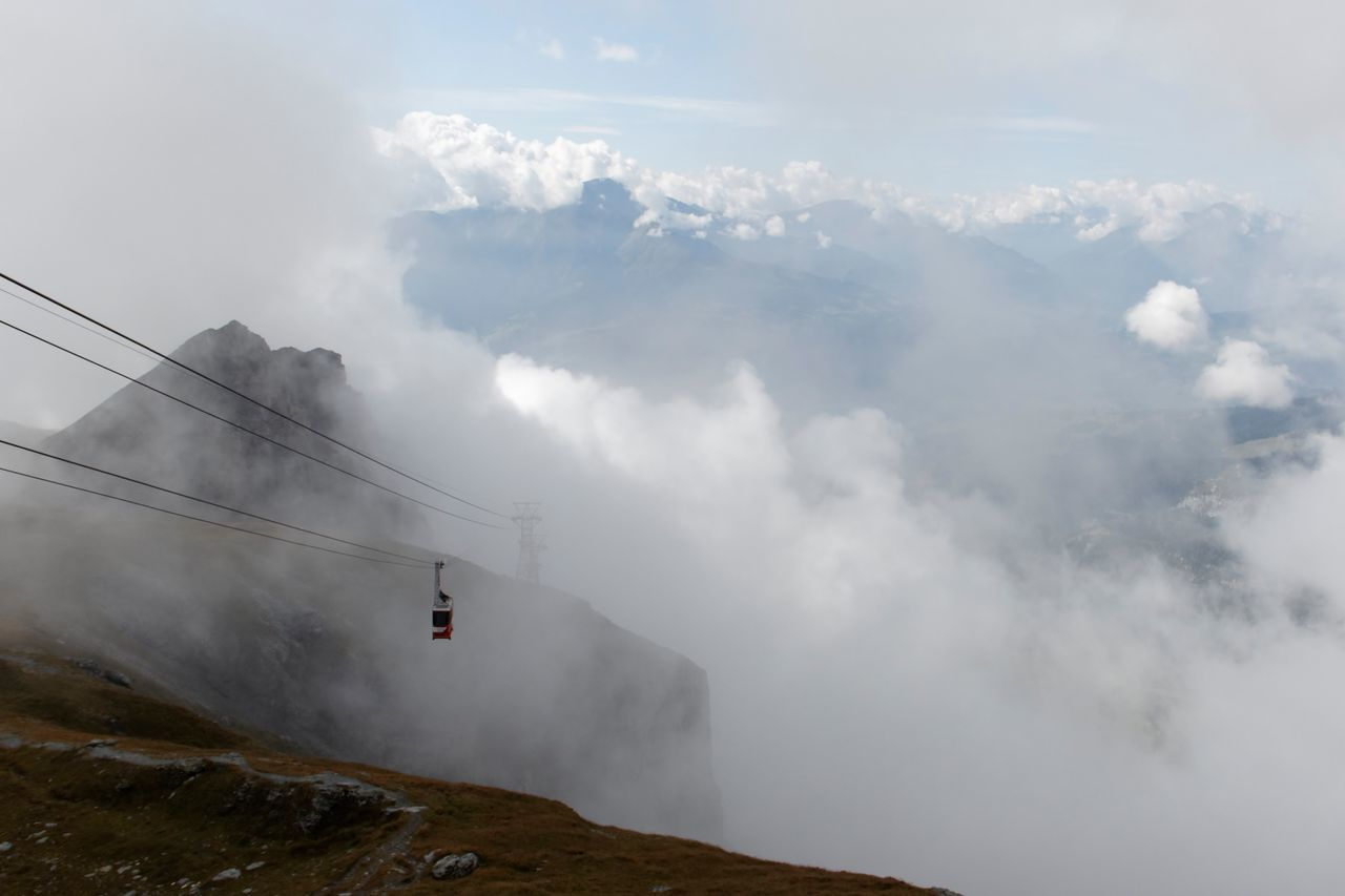 Beauty In Nature Cable Cloud Cloud - Sky Cloudy Day Hill Idyllic Landscape Mountain Mountain Range Nature No People Non-urban Scene Outdoors Overhead Cable Car Power Line  Power Supply Remote Scenics Sky Tranquil Scene Tranquility Weather
