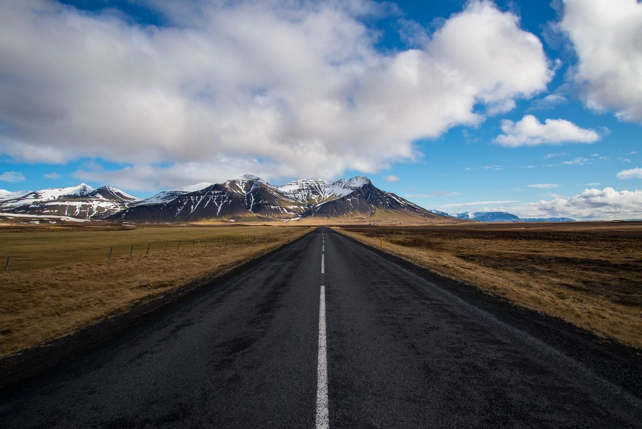 Beautiful stock photos of iceland, Beauty In Nature, Cloud - Sky, Day, Diminishing Perspective