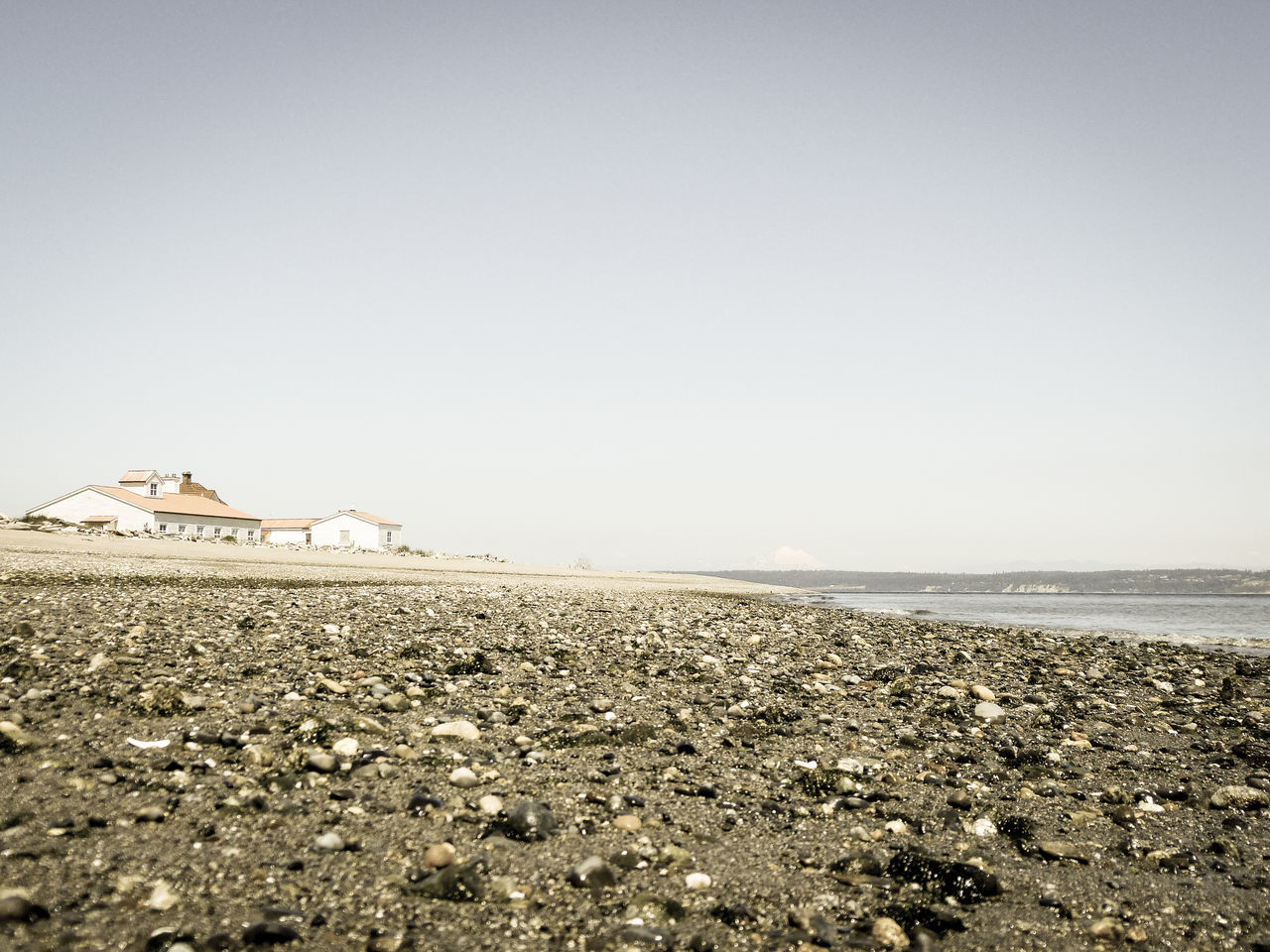 Architecture Beach Beach Photography Beachphotography Beauty In Nature Cascade Mountains Day Horizon Over Water Low Angle View Mt. Baker Old School Puget Sound Sea Sea And Sky Shore Surface Level Water