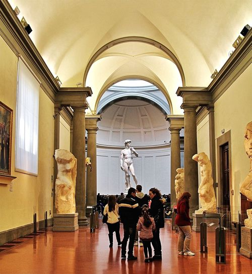 David Statue Of David Galleria Dell'accademia, Florence Michelangelo Florence, Italy Italian Art