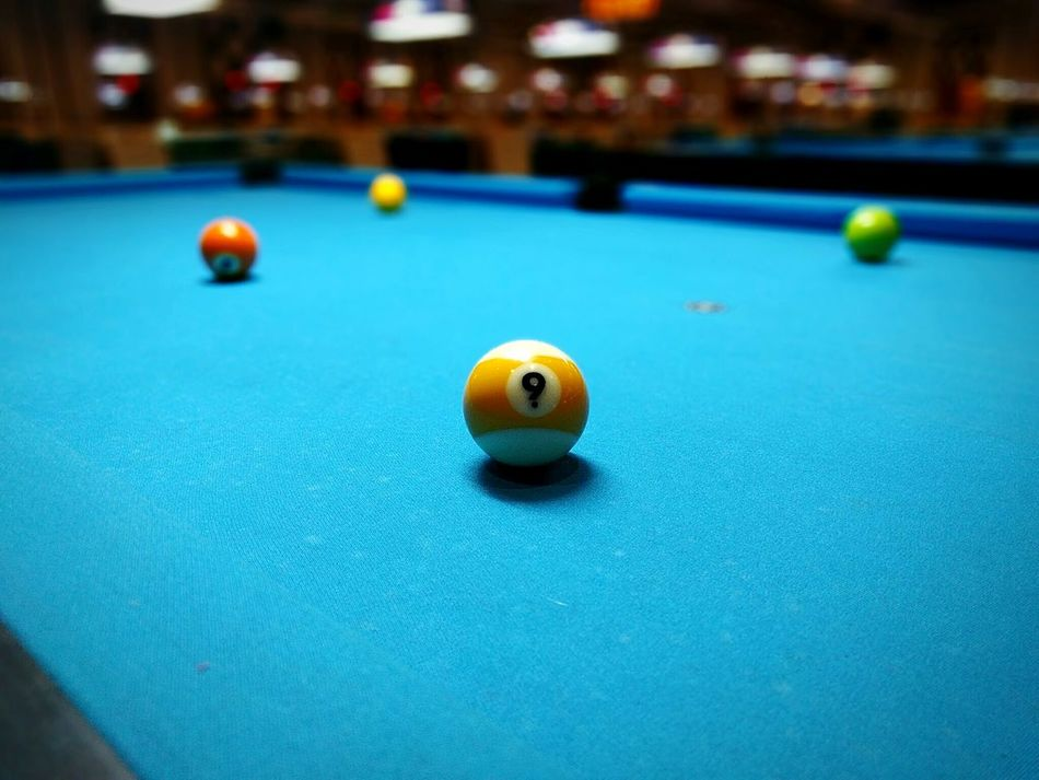 Billiards 9 Ball Pool Table Pool Cue Tournament First Eyeem Photo
