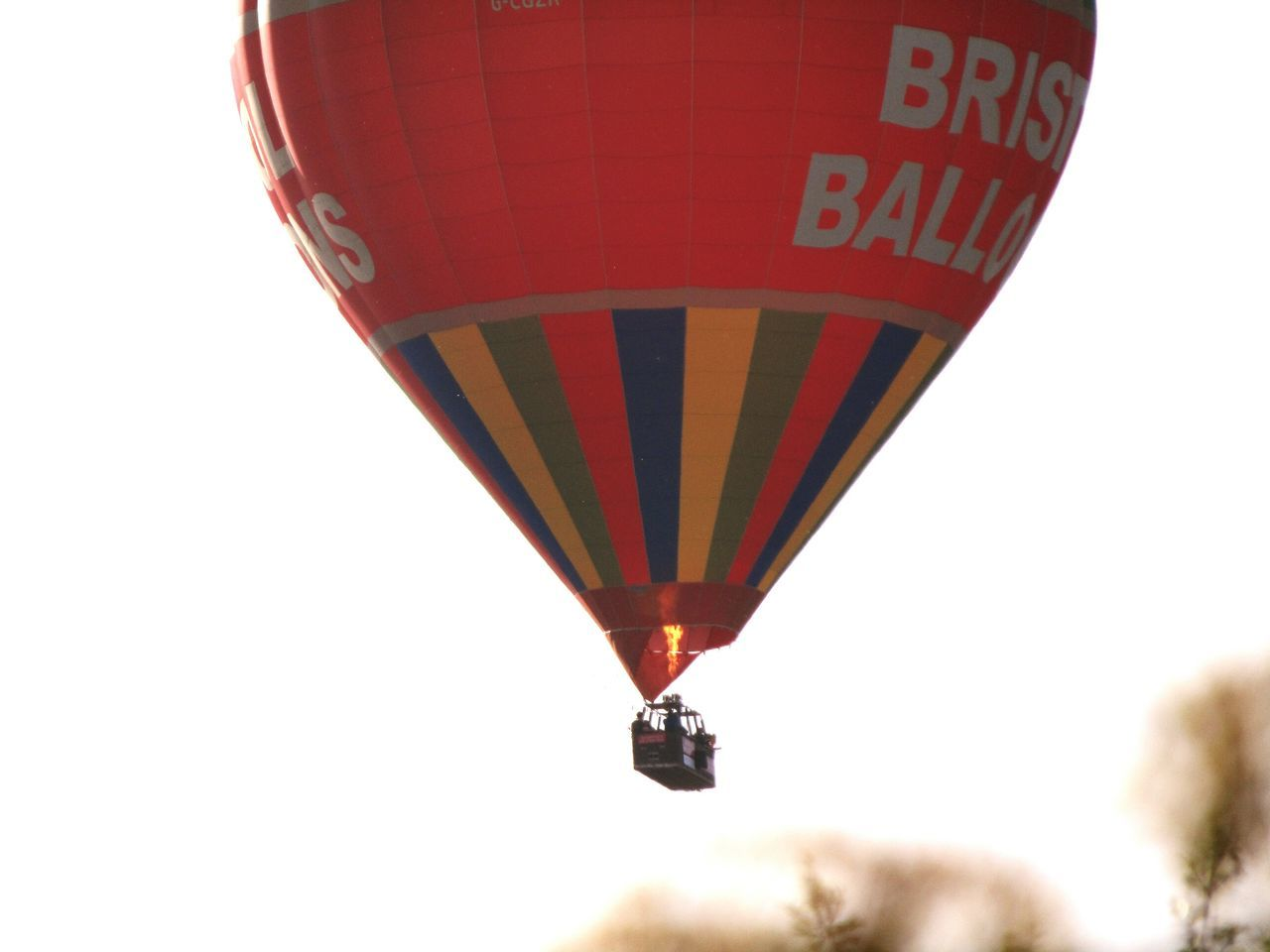 Hot Air Balloon Low Angle View Day Flying Outdoors Tranquility Transportation Air Vehicle Morning Sky Bristol, England 28.5.17 Sky Multi Colored