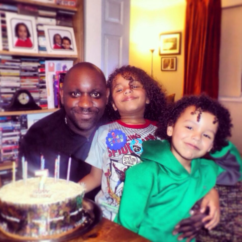 My Boys Birthday Relaxing celebrating Moses 7th Birthday with his bro Elijah 7/1/14