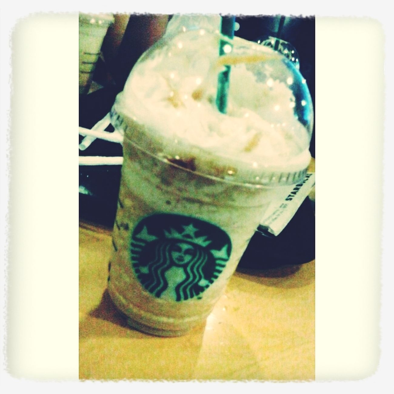 Starbucks Caramel Frap  Foodphotography Vscocam ❤❤