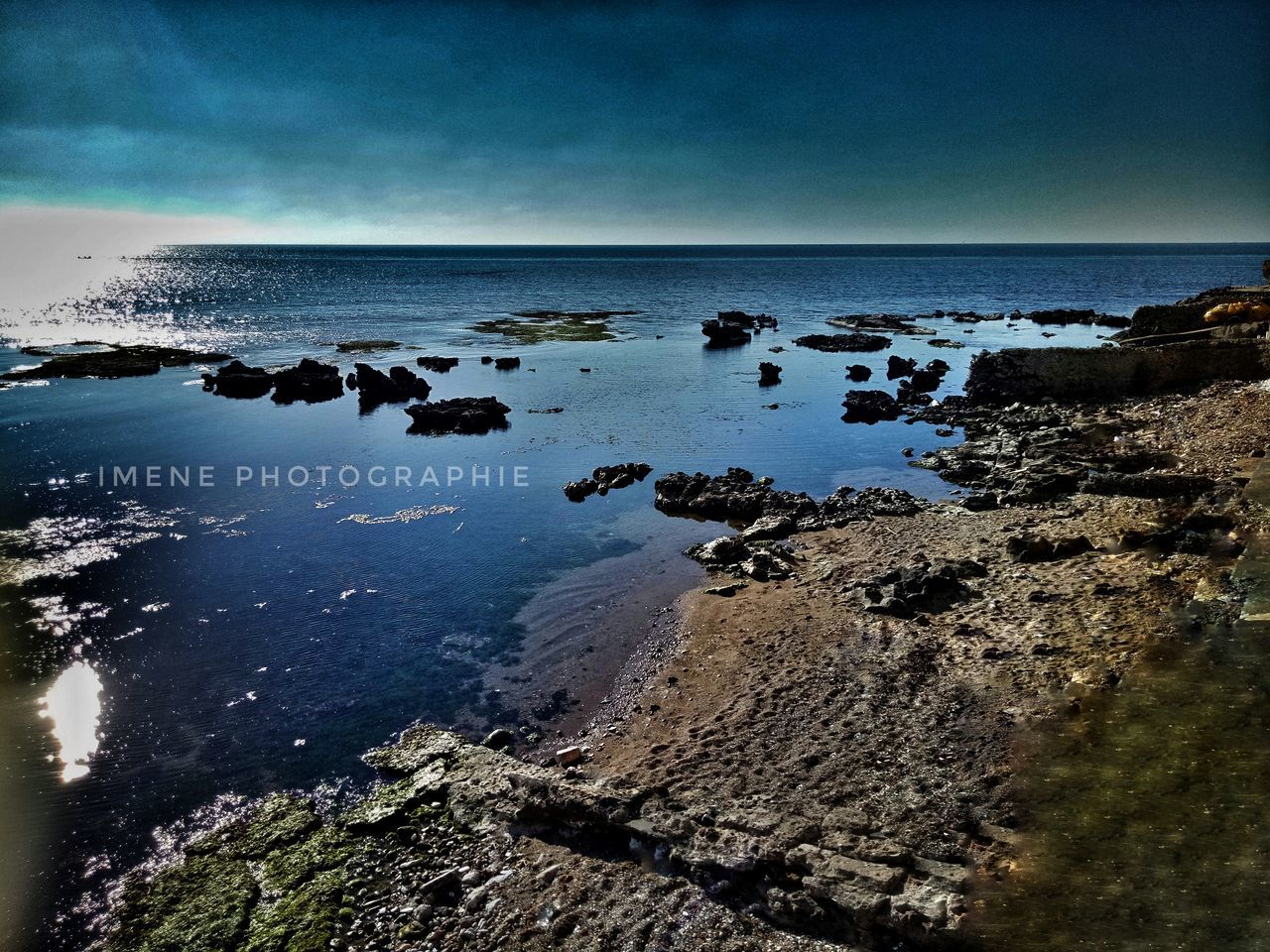 sea, horizon over water, water, beauty in nature, nature, scenics, rock - object, beach, sky, no people, tranquil scene, tranquility, day, outdoors
