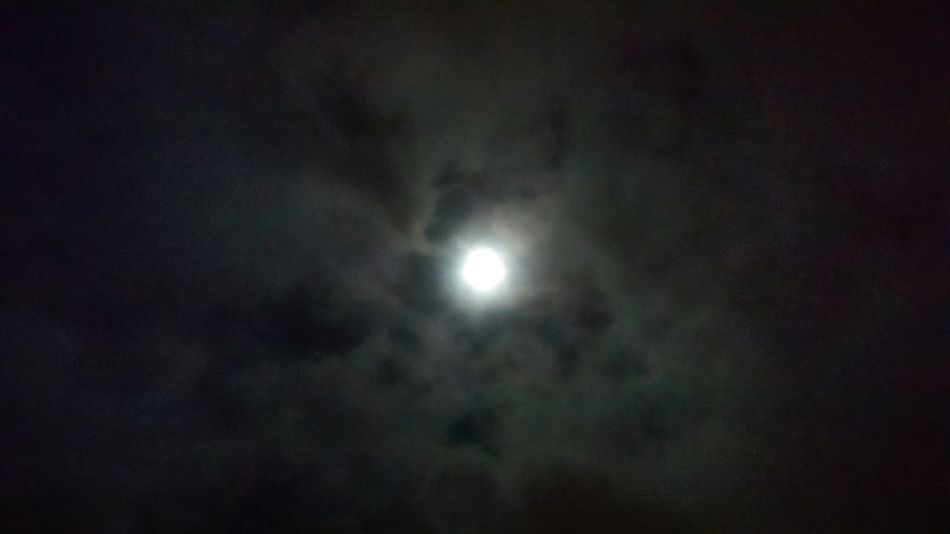 """Night Darkclouds Darkskies Fullmoon Fullmoon And Clouds Moonlight """" Looks like its in a triangle."""""""