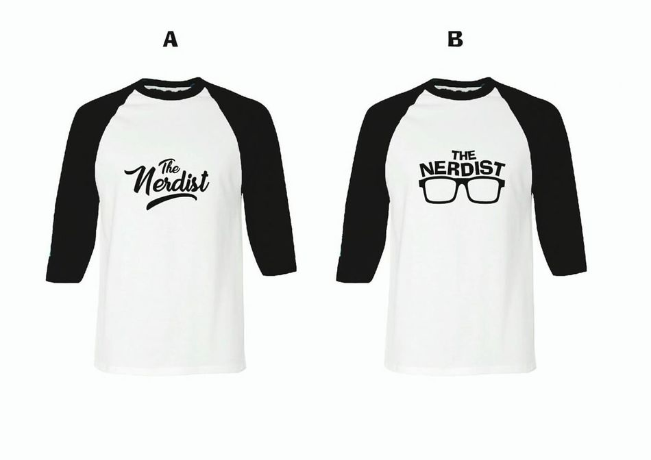 "New design ""the Nerdist"" White Background Tshirt Designer Tshirtprint Tshirtmaking"