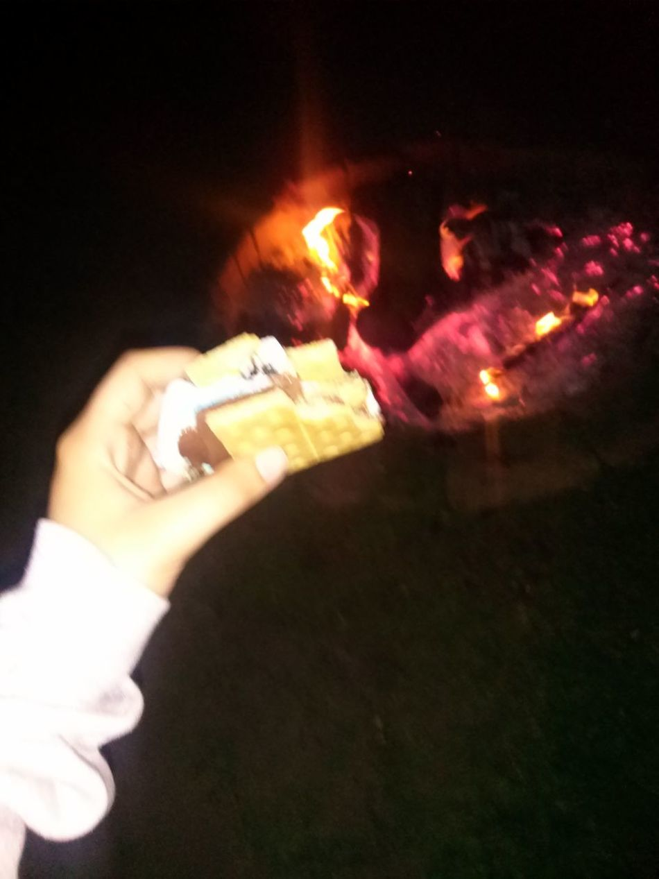 Smores and fireworks last night!(: we had a blast Happy 4th Of July 2014🇺🇸