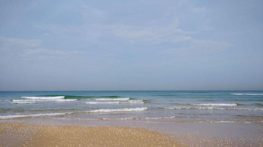 Beach Sea Water Horizon Over Water Sand Nature Tranquility