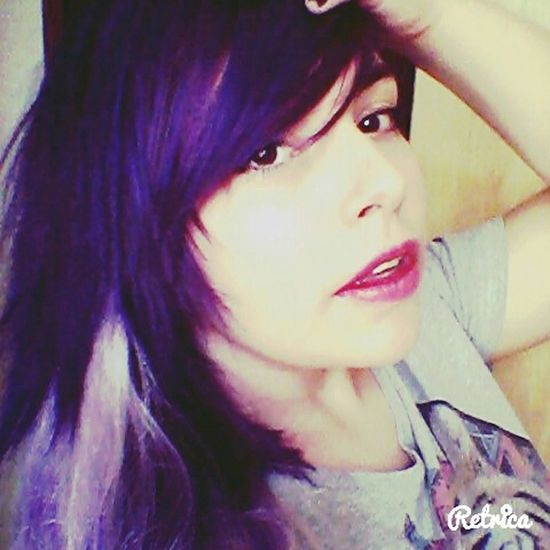Sinto falta do meu cabelo roxo :c New Haircut Being Seductive Or Not...who Cares?!