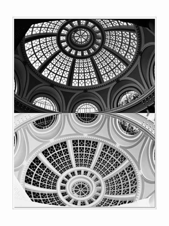 The Dome @ Westfield San Francisco Centre 2 Bmw_friday_eyeemchallenge Ambient Light Natural Light The Dome Architect: Albert Pississ Parrott Building The Old Emporium 1908 102ft Historic Skylit Dome Architectural Detail Architecture Style: Classicism Western Tradition Abstract Reflection Inverted Reflected Glory Monochrome Photograhy Monochrome Black & White Black & White Photography Black And White Black And White Photography Westfield Centre Centerpiece Redesigned 2006 Pattern Pieces