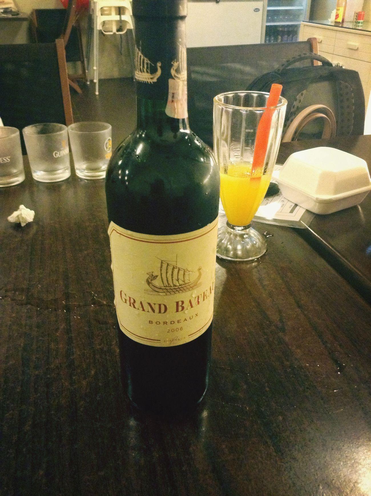 Wine Meeting Friends Relaxing Enjoying Life