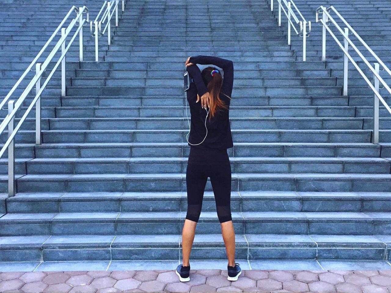 Beautiful stock photos of shoe, Arms Raised, Day, Exercising, Flexibility