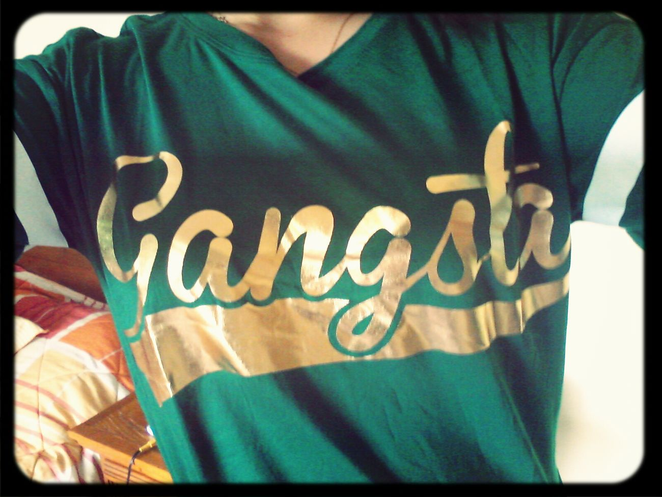 Gangsta Lyfe T-shirt Fashion&love&beauty Street Style First Eyeem Photo