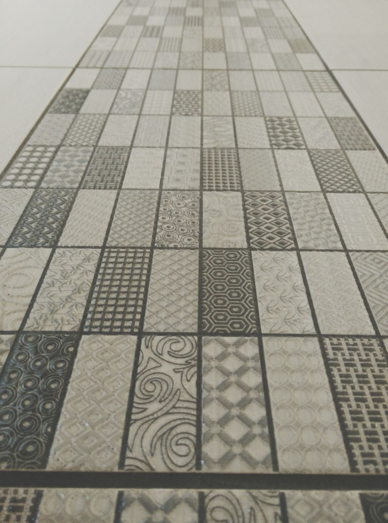 Architectural Feature Backgrounds Close-up Day Design Elevated View Flooring Full Frame Geometric Shape Modern No People Pattern Repetition Tile