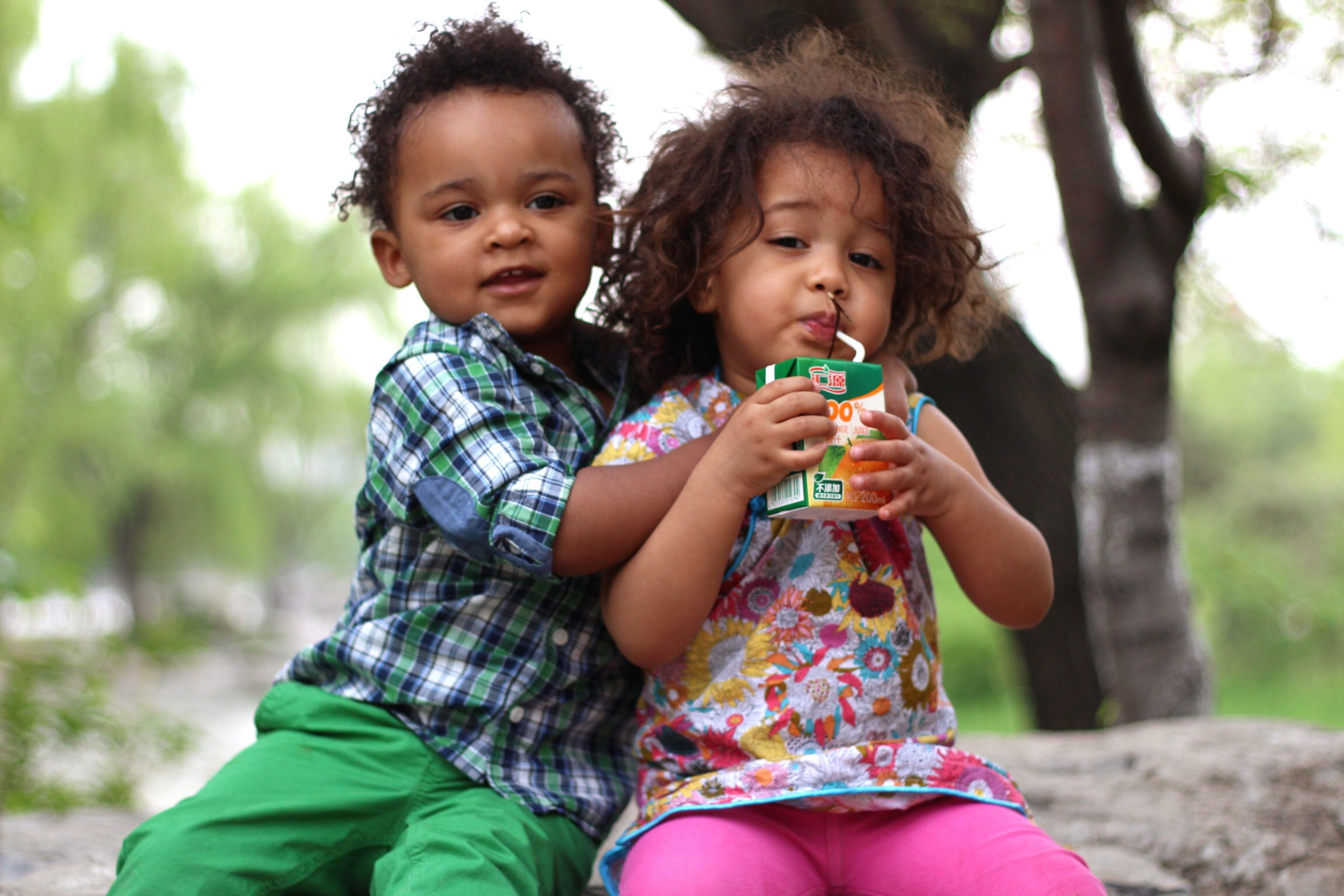 childhood, togetherness, bonding, elementary age, leisure activity, boys, lifestyles, person, love, innocence, cute, girls, casual clothing, family, happiness, family with one child, smiling