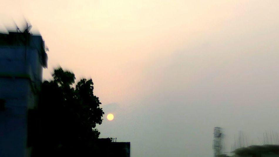 Sky Day Morning View Sun Sunrise Bhawana