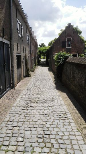 Cobblestone No People Day Outdoors Architecture In Ancient Town.