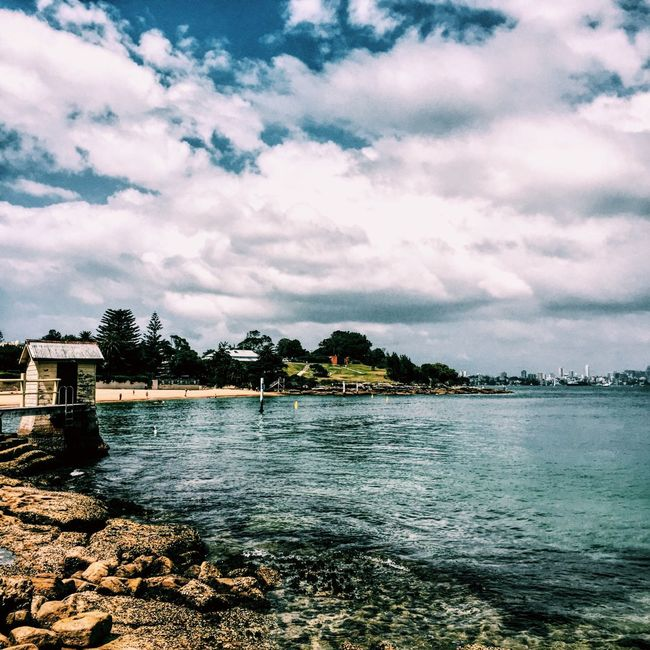 😌 Clouds And Sky Australia First Eyeem Photo Chill Beach Beachphotography Relaxing Water Rock House Sydney Calm Bright Love Amaturephotography Amateurphotography