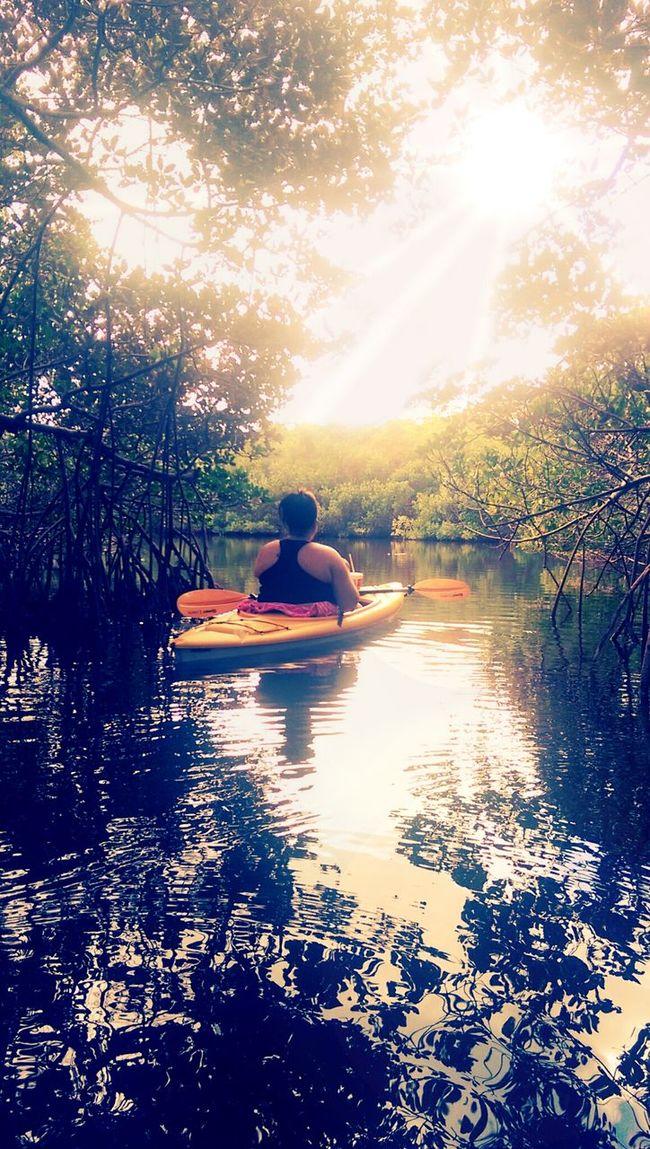 Robbinson Preserve Kayaking Ria & Bia Enjoying Nature