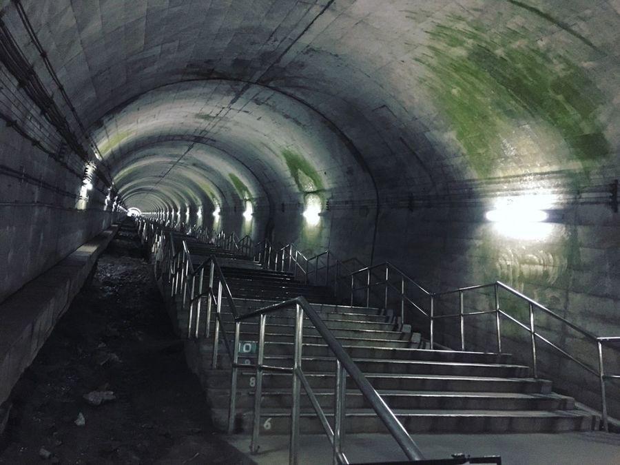 土合駅 Station Japan Stairs