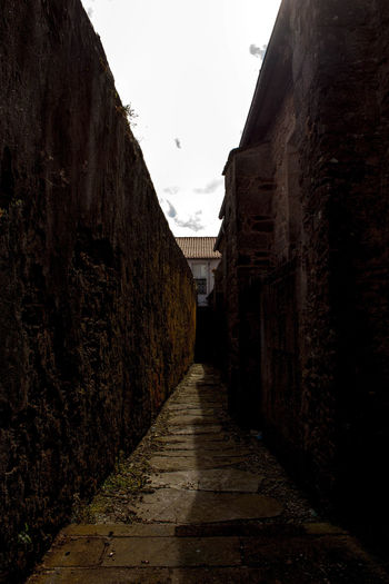 Old Town Path Perspective Building Exterior Journey My Way No People Rocks Way The Week On EyeEm