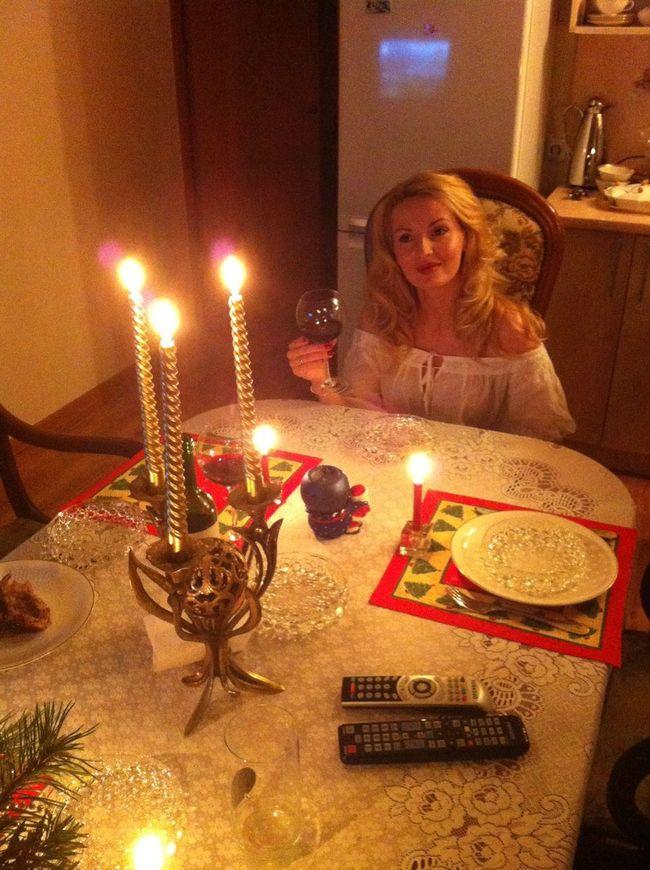 Новый год при свечах   Naujoji Akmene , Mywife
